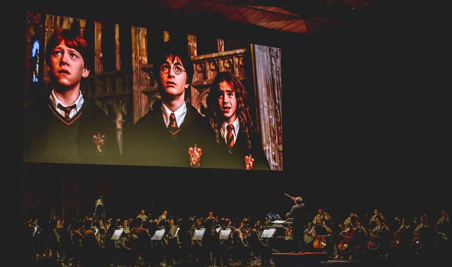 The Metropolitan Festival Orchestra will be performing live as you watch Harry, Ron and Hermione join forces to save Hogwarts in the Chamber of Secret movie.