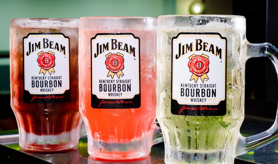 It's Jim Beam highball happy hour!