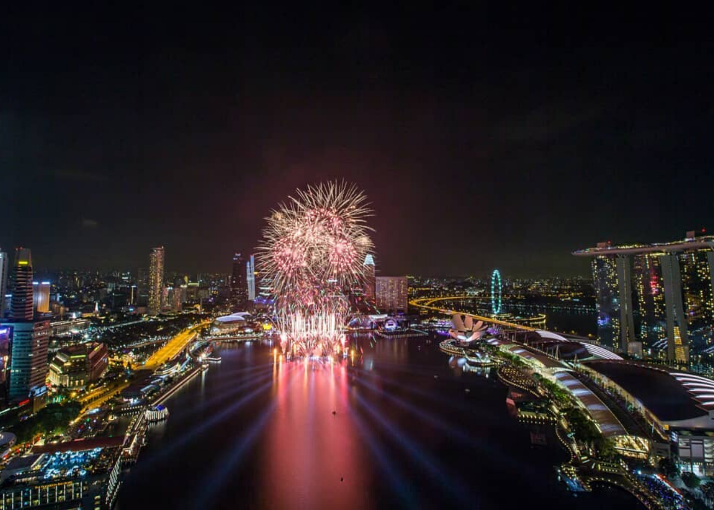 Where to watch fireworks in Singapore: Level33