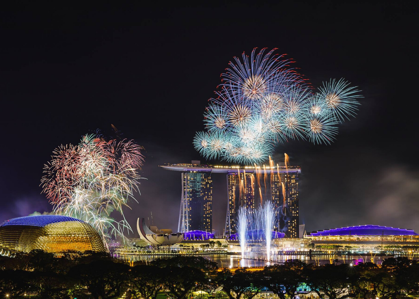Where to watch fireworks in Singapore: Smoke & Mirrors
