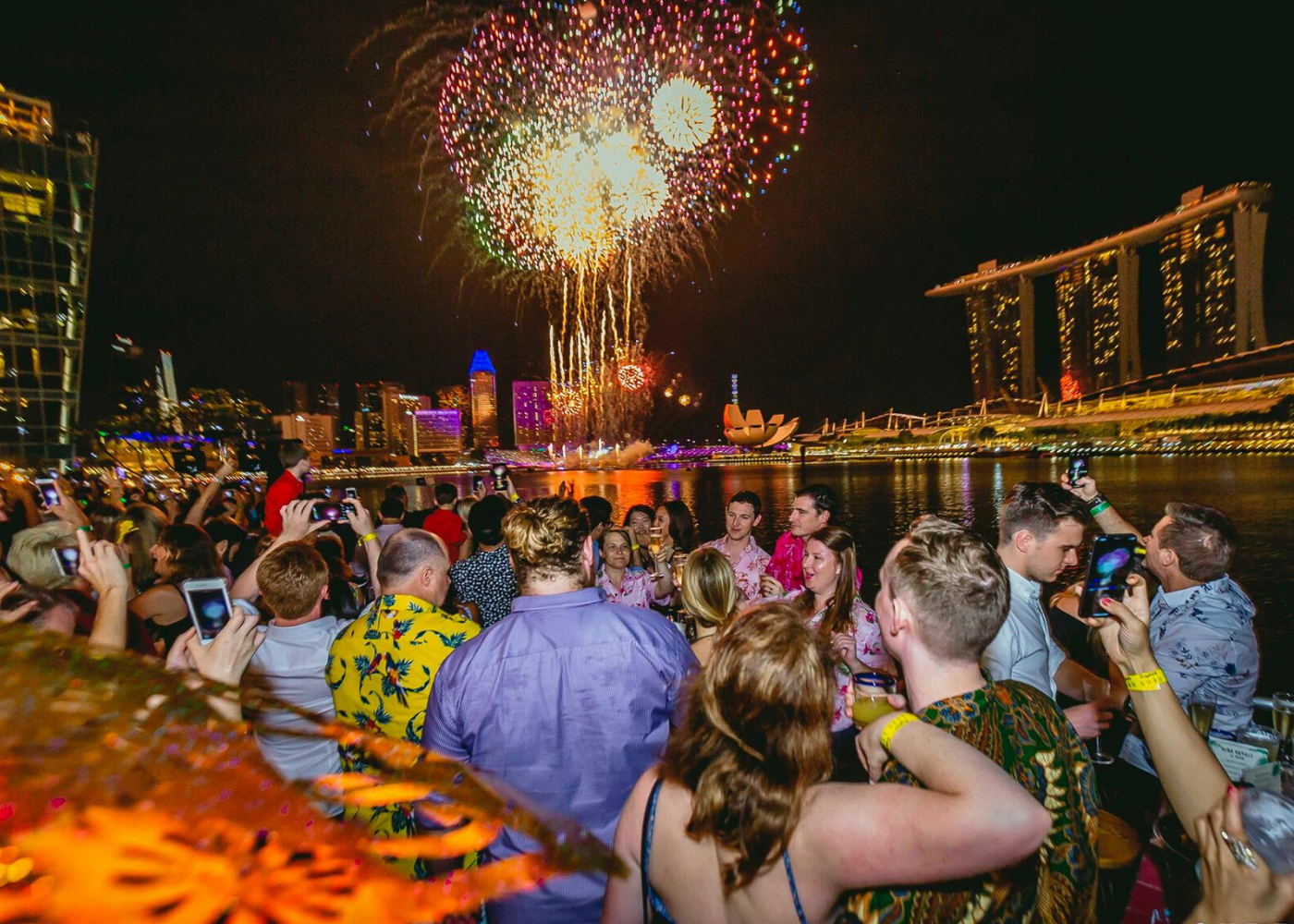Where to watch fireworks in Singapore: Super Loco Customs House