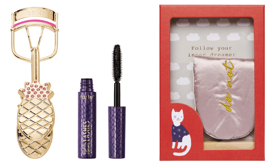how some love with the Time to Unwind gift set by Kikki.k and Tarte, Limited Edition Lashy & Flashy Last Curler from Sephora