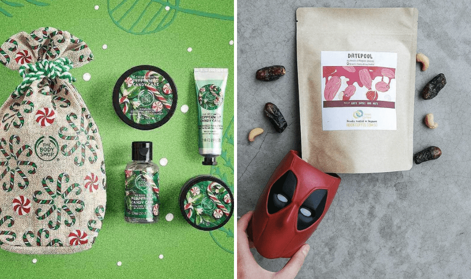 This gift sack from The Body Shop holds a shower gel, body scrub, body butter and hand cream. As clinically diagnosed coffee addicts, we were thrown over the edge with Hook Coffee