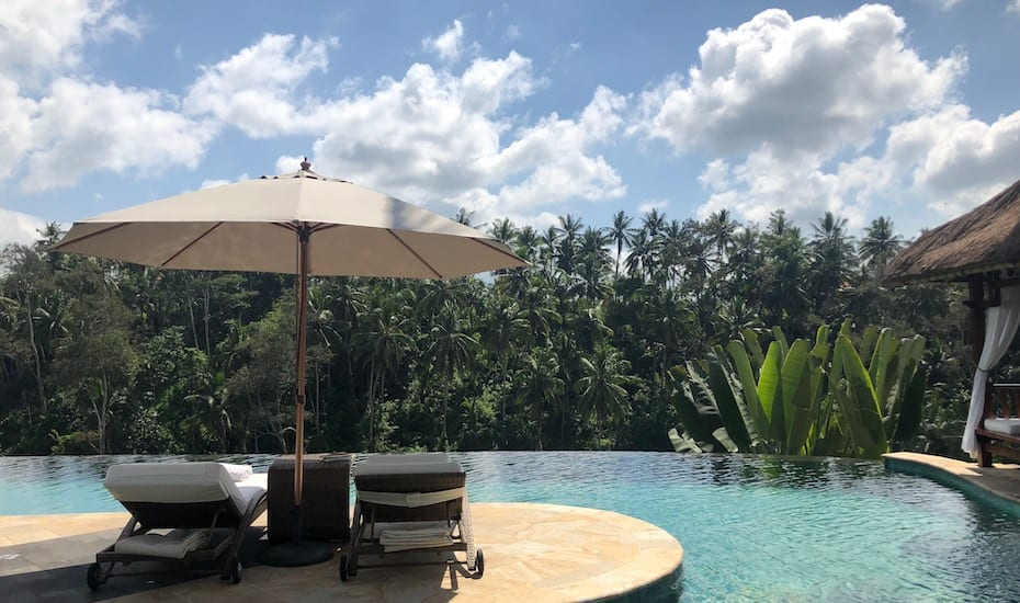 The stunning Viceroy resort in Ubud