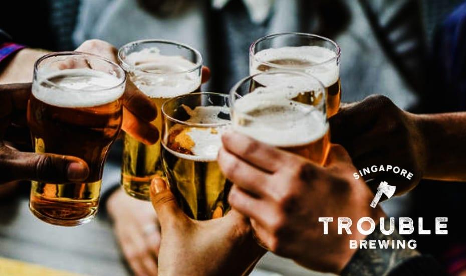 Trouble Brewing Craft Beer Workshop