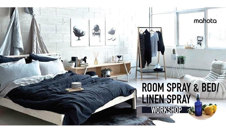 Room Spray & Bed/ Linen Spray Workshop