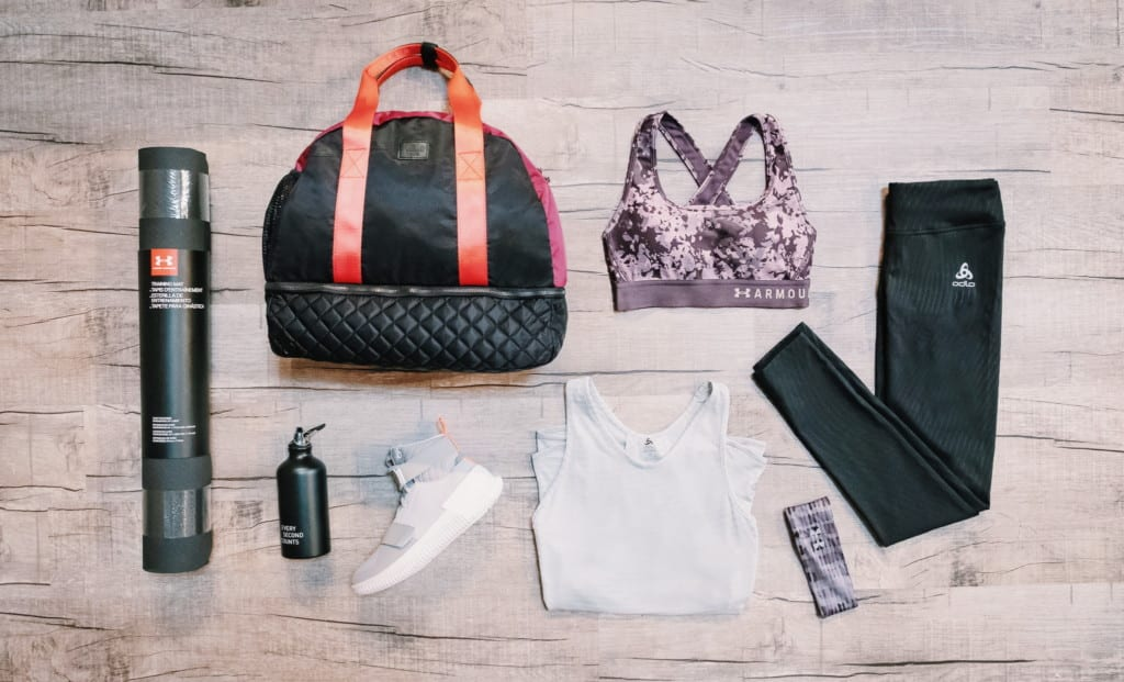 From yoga to crossfit: Here's what's in our gym bags