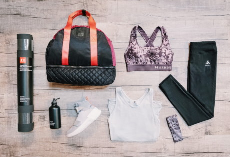 What's in our gym bags? We open up with TripleFit
