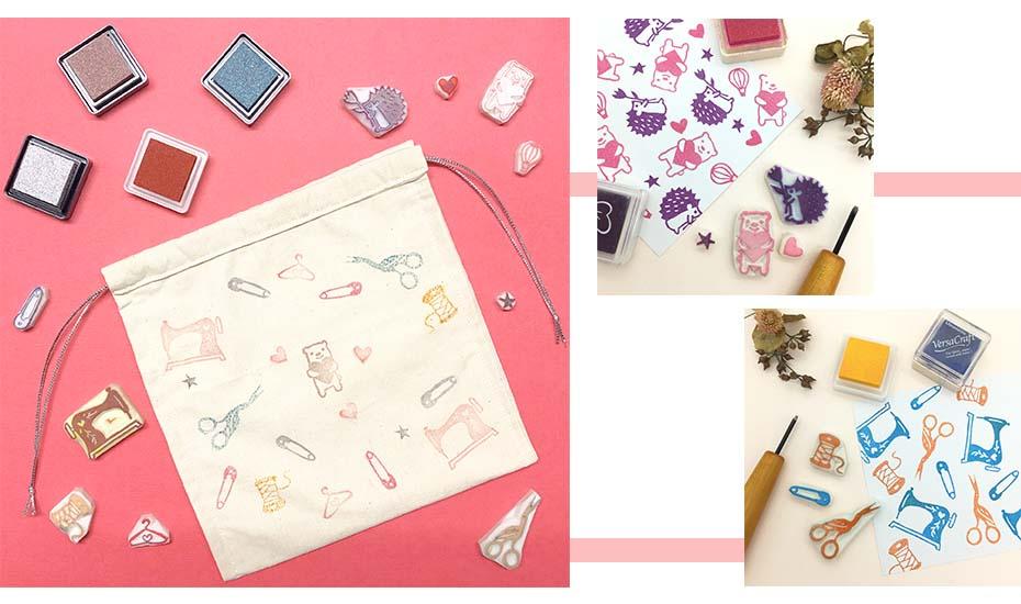BERNINA x ParadeMade: Stamp Carving + Sewing Workshop
