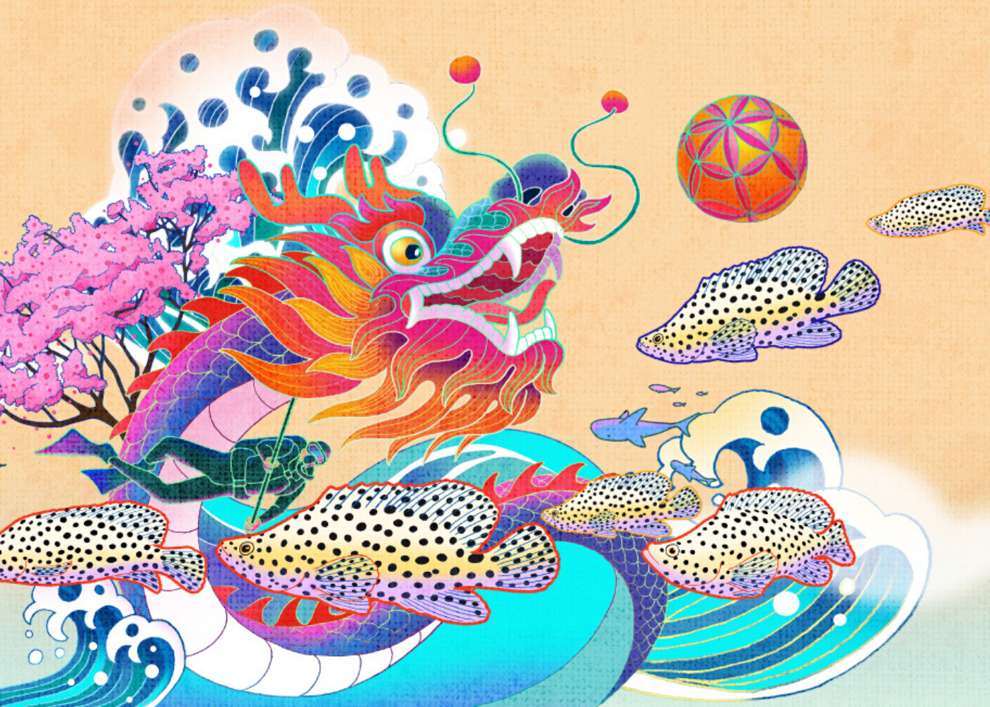 Abundance in the Sea Chinese New Year events 2020