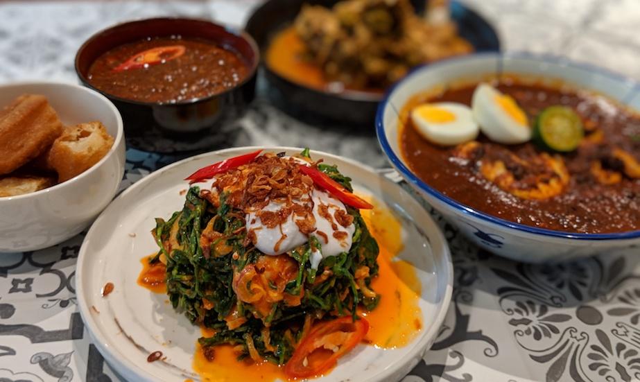 Folklore restaurant's Peranakan CNY menu