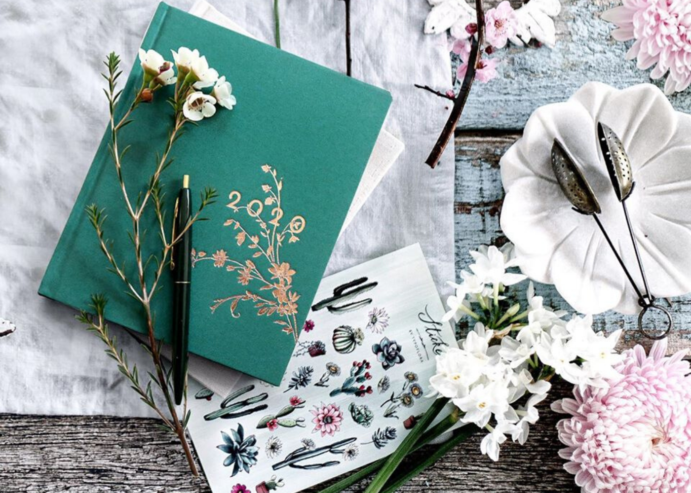 Pencil it in: Ring in 2020 with the coolest diaries, planners and journals