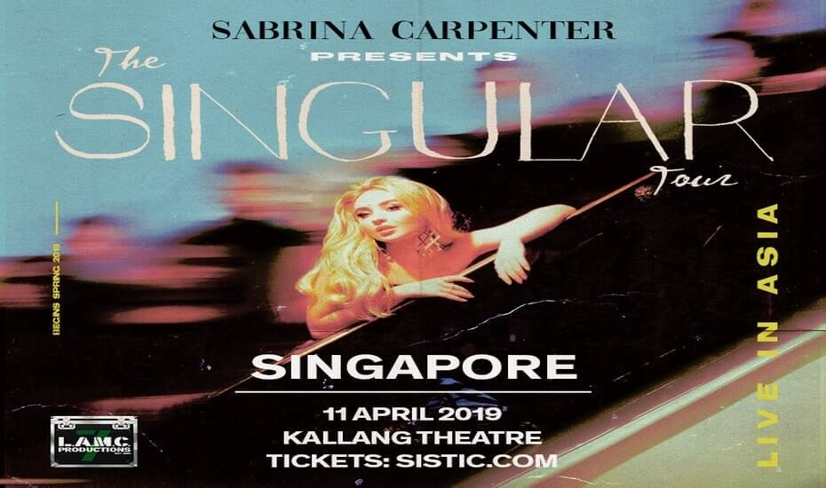 Sabrina Carpenter – The Singular Tour – Live in Singapore