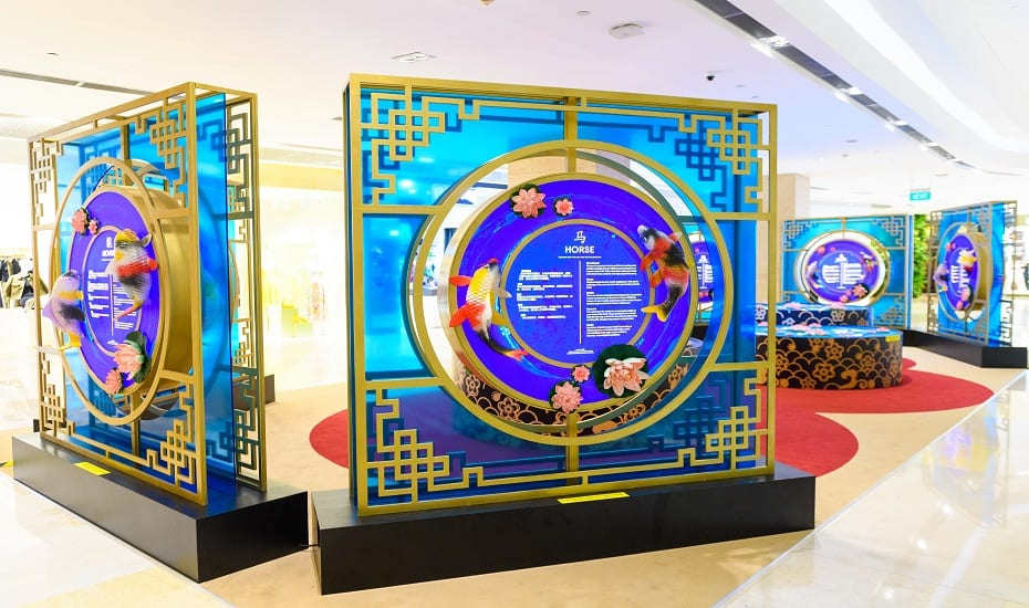 Immerse in a Stream of Abundance at ION Orchard this Chinese New Year