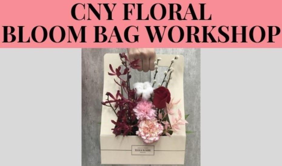 CNY Floral Bloom Bag Workshop