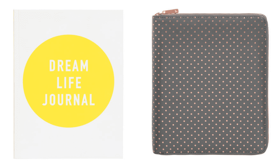 Your Dream Life Starts Here by Kristina Karlsson is a hybrid self-help book slash journal + workbook that's meant to encourage you to dream without limitations and bedside table must-have.