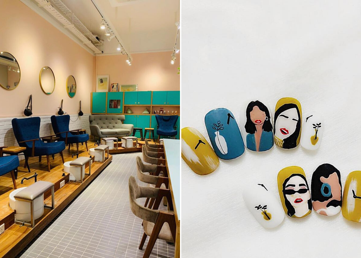 manicurious   best nail salons in singapore