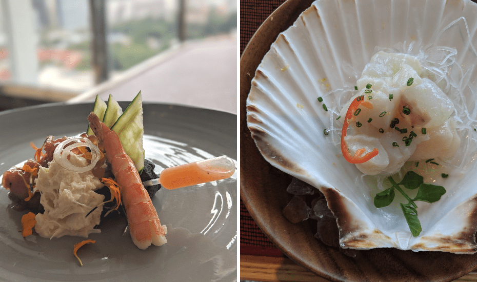 And Osaka, that's come to Nami restaurant at Shangri-La, happenes to be voted as one of Latin America's 50 Best Restaurants in 2018