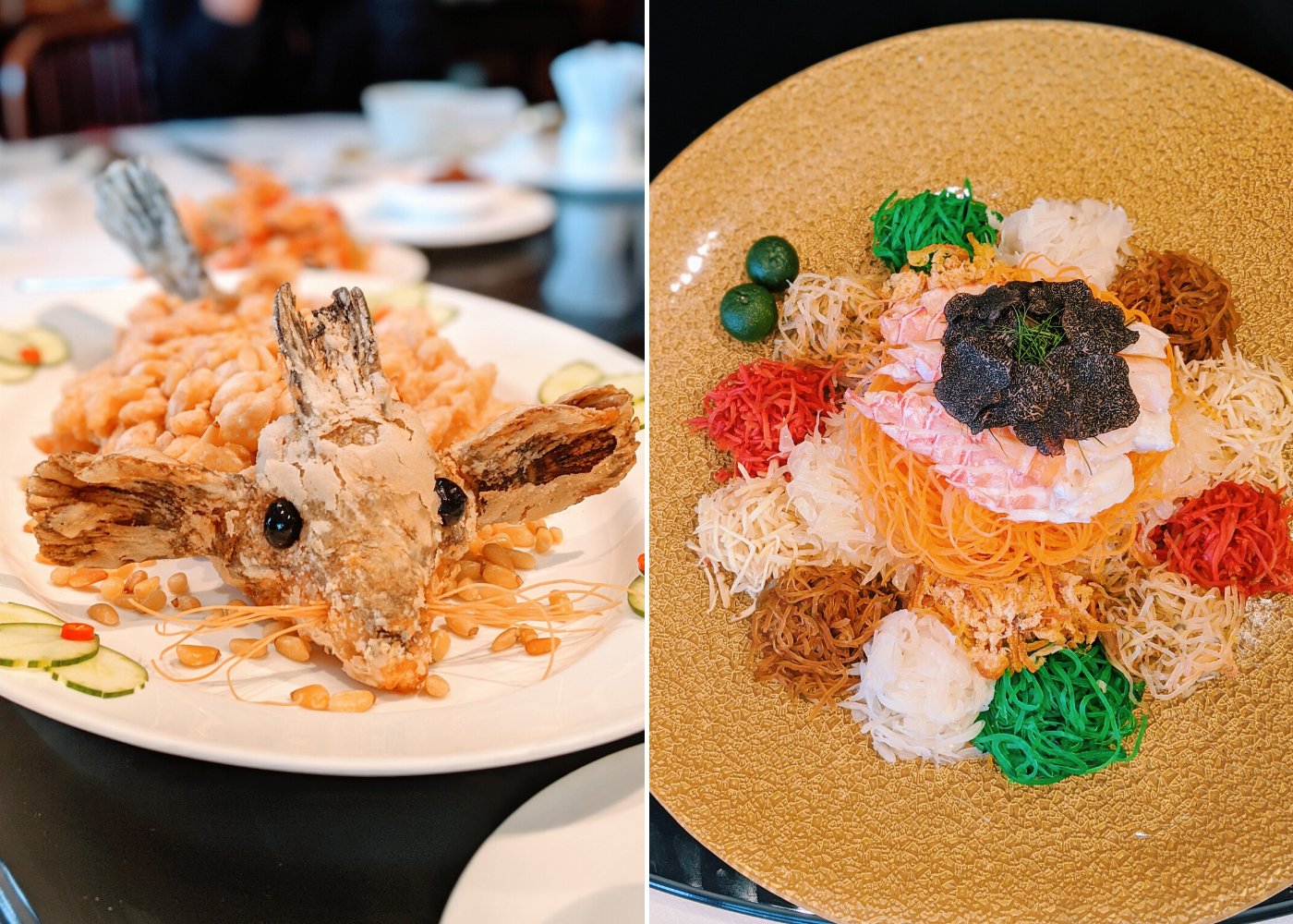 Summer Place at Regent | Chinese New Year dining 2020