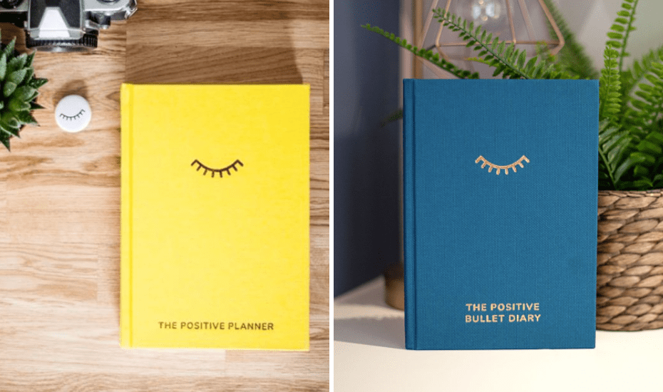 Designed by UK-based mums Ali and Finn, The Positive Planner and The Positive Bullet Diary will be the light at the end of a long day