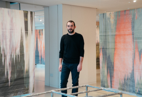 Aloft at Hermes: Xavier Antin explores tech, bitcoin and flowers