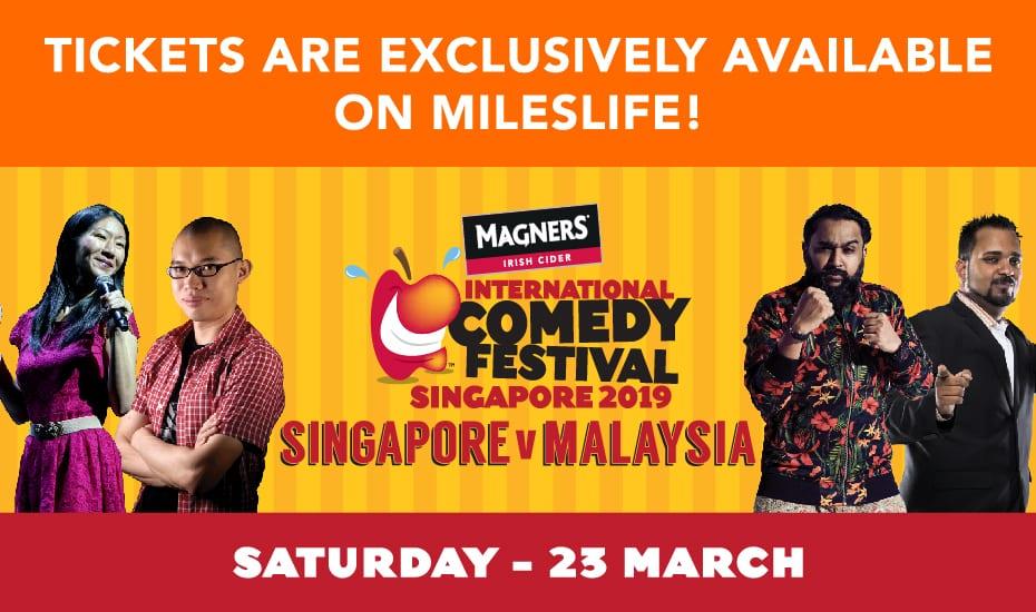 "Magners Comedy Festival ""Singapore versus Malaysia"""