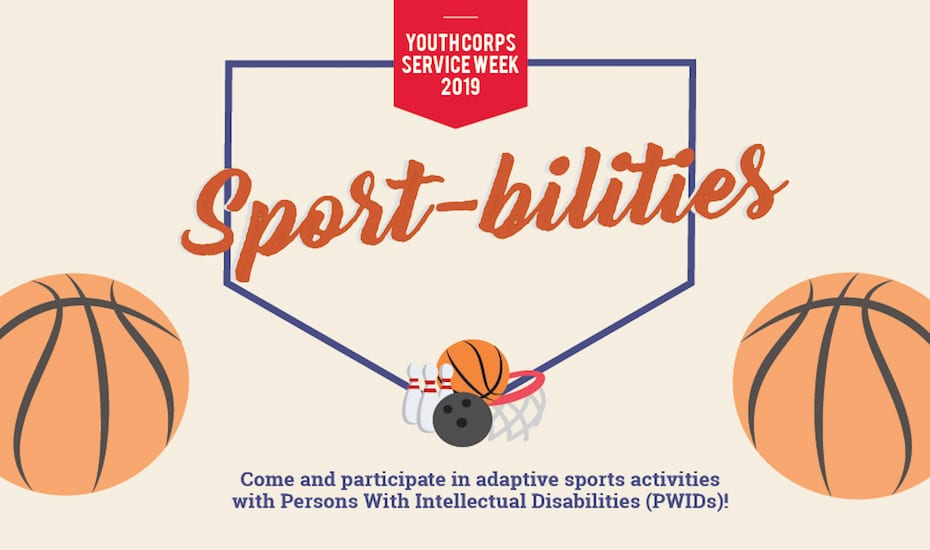 Youth Corps Service Week 2019 – Sport-bilities