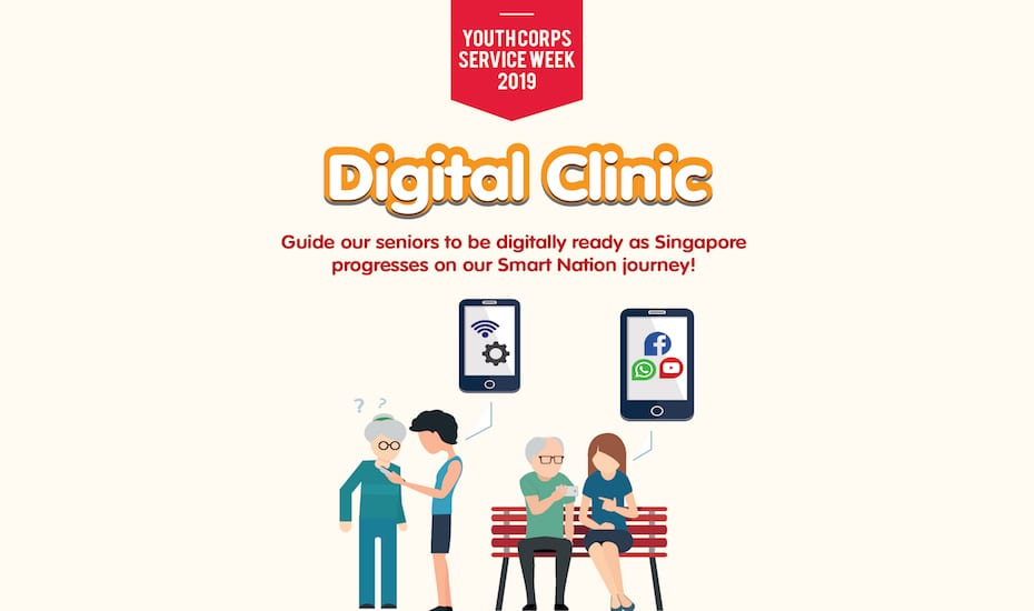 Youth Corps Service Week 2019 – Digital Clinic