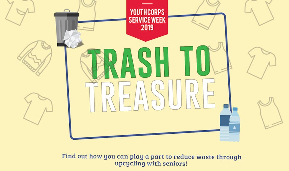 Youth Corps Service Week 2019 – Trash to Treasure