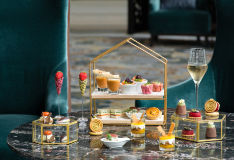 Lobby Lounge at InterContinental Singapore | Weekday afternoon tea in Singapore