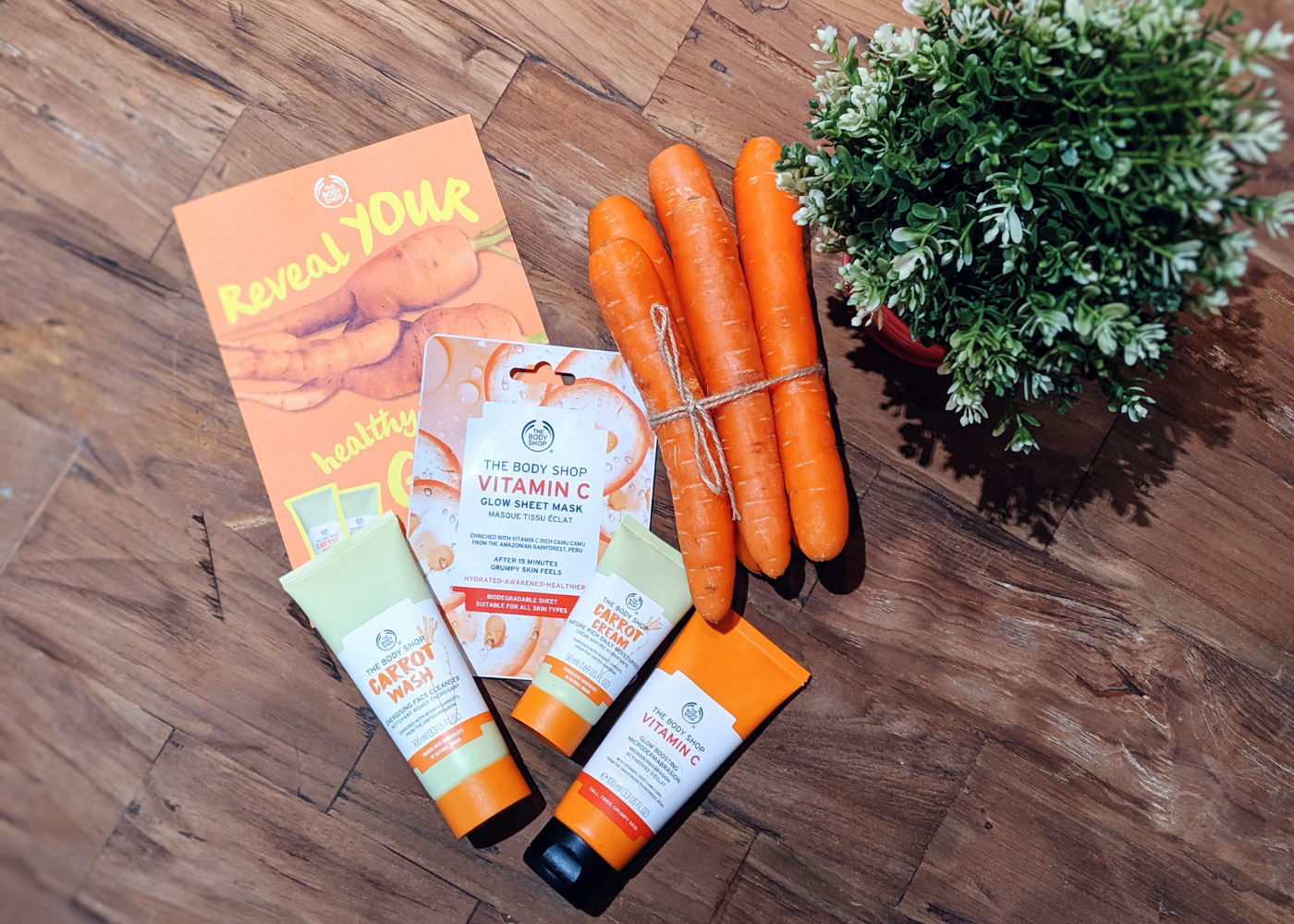 The Body Shop introduces a carrot skincare range | Our best beauty buys in July