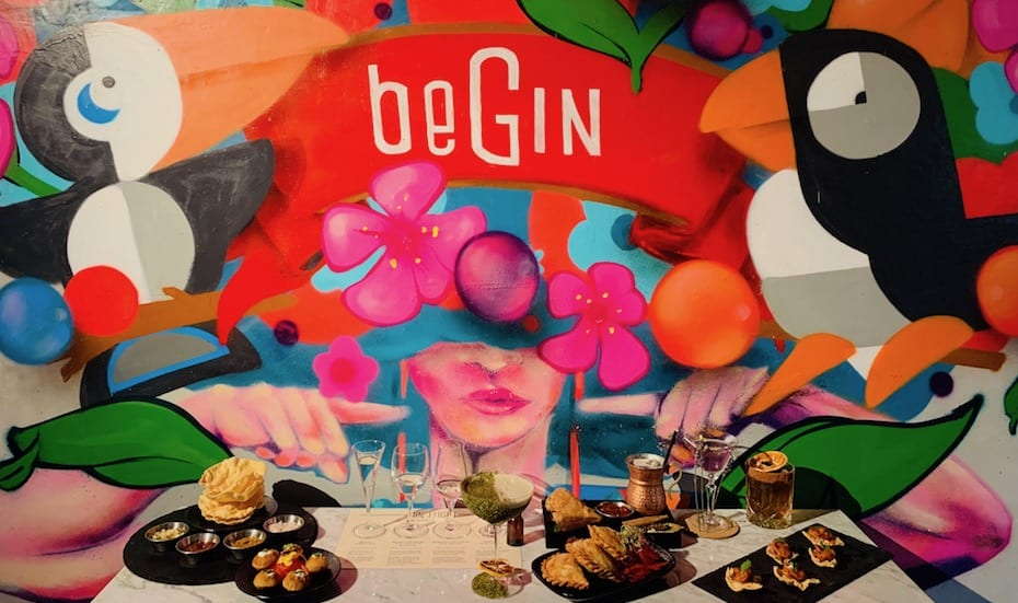Begin | Gin bars in Singapore