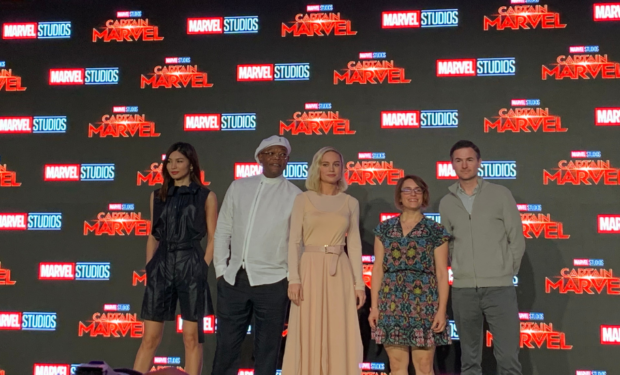 10 things you missed at the Captain Marvel fan event in Singapore   Marina Bay Sands   Brie Larson, Samuel L Jackson and Gemma Chan