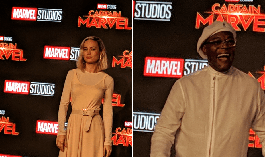10 things you missed at the Captain Marvel fan event in Singapore | Marina Bay Sands | Brie Larson, Samuel L Jackson and Gemma Chan