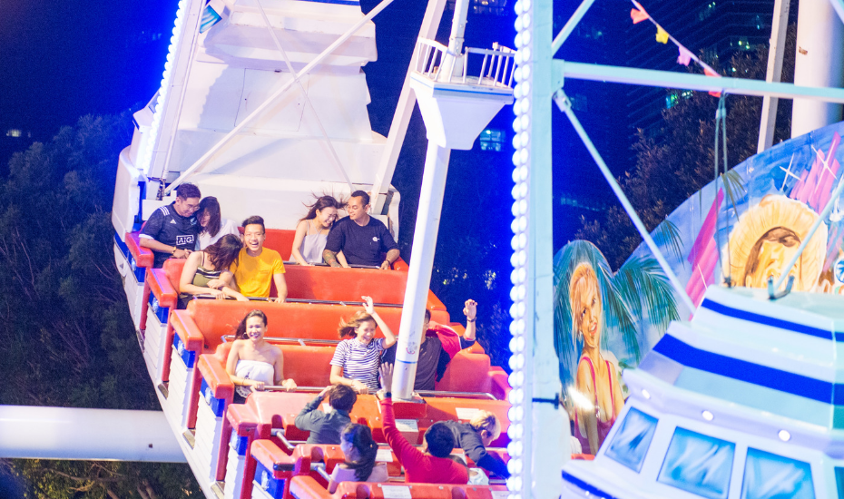 Buckle up: The Prudential Marina Bay Carnival is back with head-spinning rides and buckets of festival bites