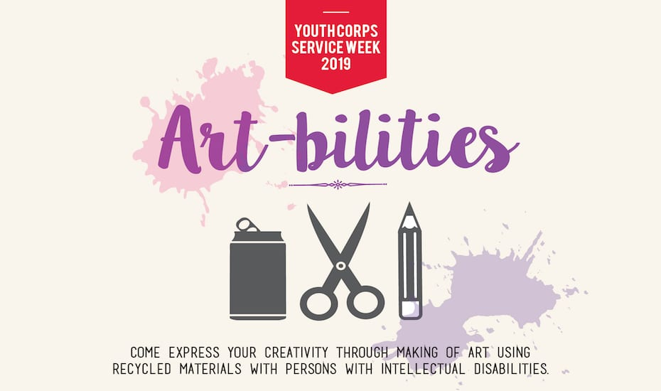Youth Corps Service Week 2019 – Art-bilities