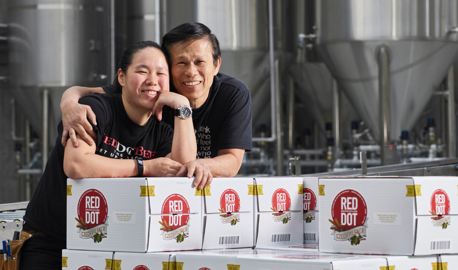Craft beer lovers, met local microbrewery RedDot Brewhouse
