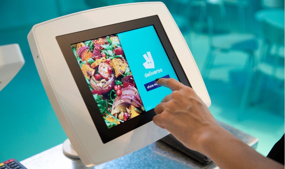 Deliveroo evolves into a futuristic space with dine-in