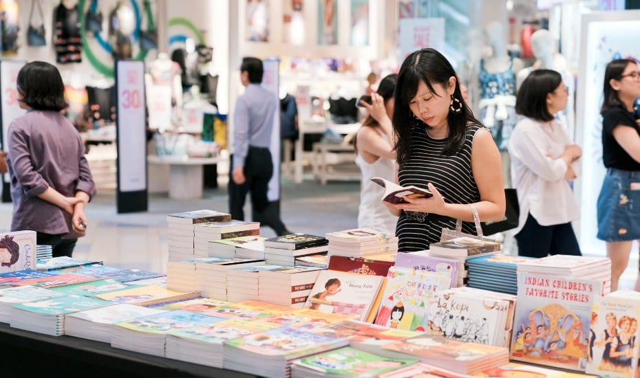 Celebrate Singaporean literature and writers at #BuySingLit 2019