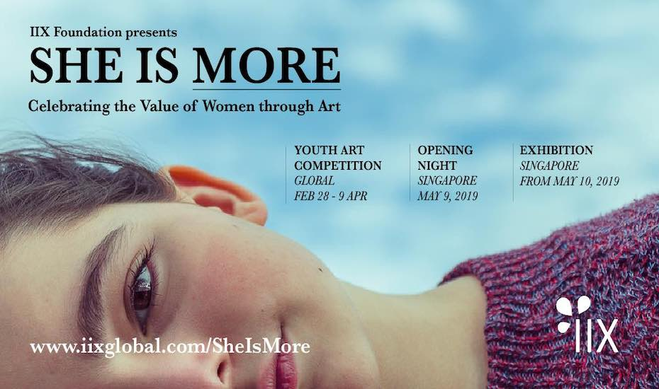 SHE IS MORE Opening Night and Art Exhibition