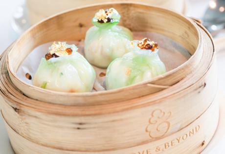 Above & Beyond restaurant Hong Kong dumplings