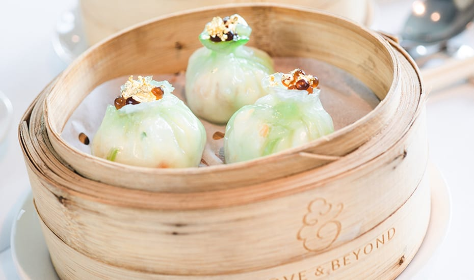 Heading to Hong Kong? Sample tasty Cantonese cuisine while you take in the views at Above & Beyond