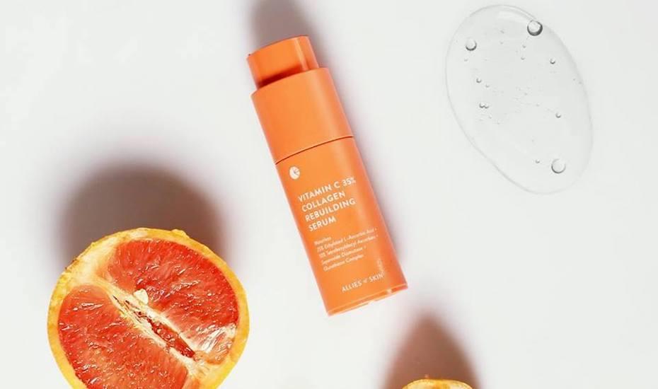 Allies of Skin Vitamin C 35% Collagen Rebuilding | Vitamin C skincare explained