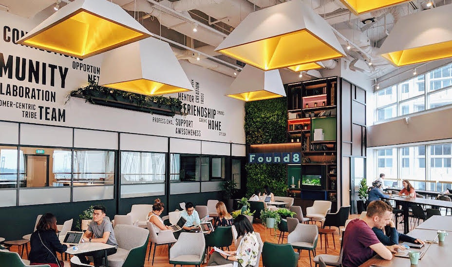 Found8 coworking space Anson road Singapore