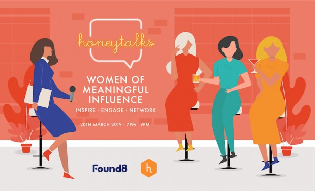 HoneyTalks at Found8: networking night and panel discussion with women of meaningful influence