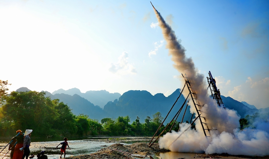 Festivals around Southeast Asia | Boun Bang Fai Rocket Festival, Laos