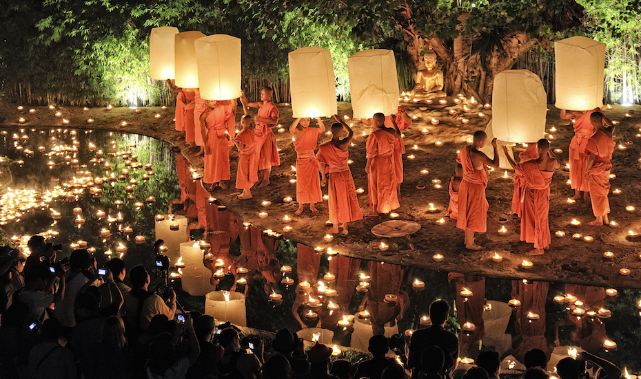 Festivals around Southeast Asia | Loy Krathong, Thailand