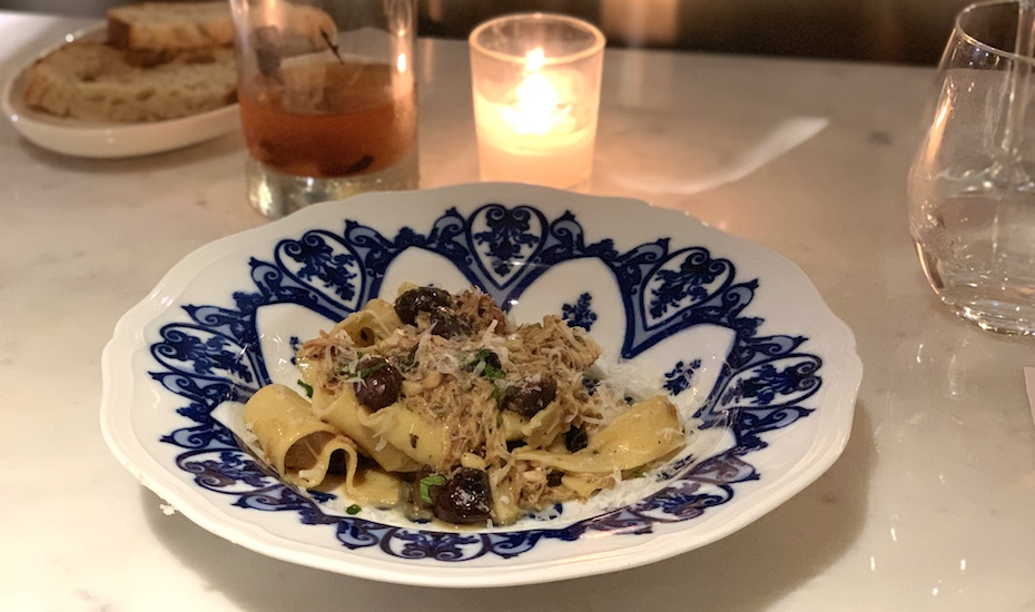 Hot New Table | Pasta Bar at Keong Saik | pappardelle with rabbit ragu