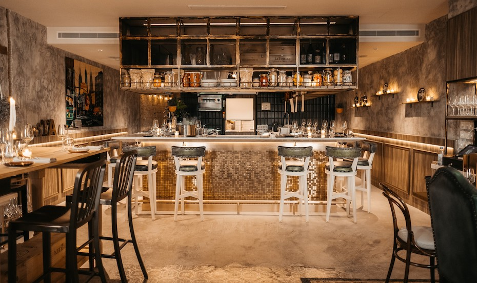 Hot New Table | Pasta Bar at Keong Saik | New York apartment-style interiors