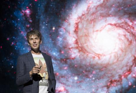 Professor Brian Cox live show Universal World Tour